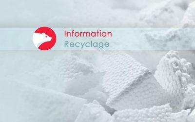 Polystyrène : projet- pilote de récupération à la MRC des Laurentides